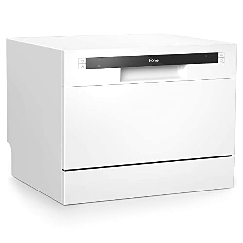hOmeLabs Compact Countertop Dishwasher - Energy Star Portable Mini Dish...