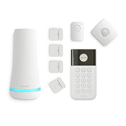 SimpliSafe 8 Piece Wireless Home Security System - Optional 24/7...