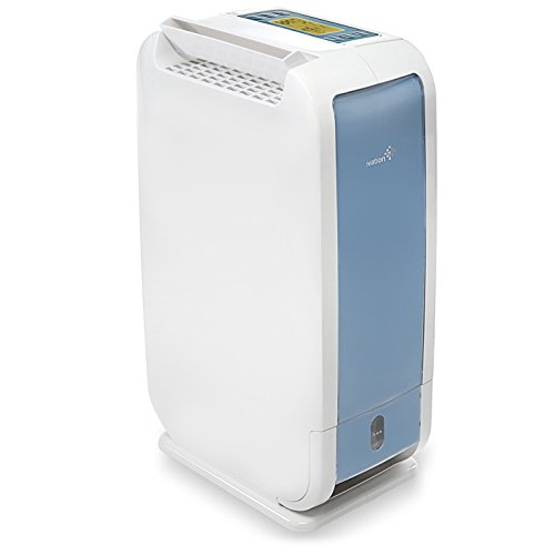 Ivation 13-Pint Small-Area Desiccant Dehumidifier Compact and Quiet - With...