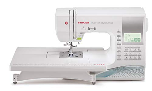 SINGER | Quantum Stylist 9960 Computerized Portable Sewing Machine with...