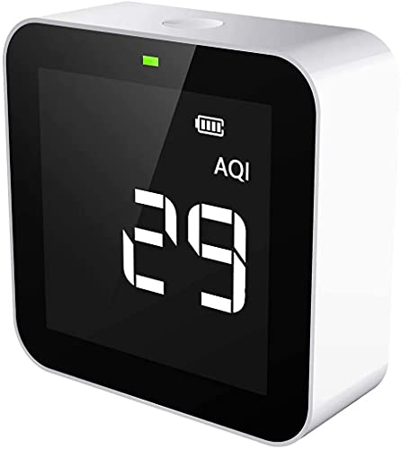 Temtop M10 Air Quality Monitor PM2.5 Formaldehyde(HCHO) TVOC AQI Real-Time...