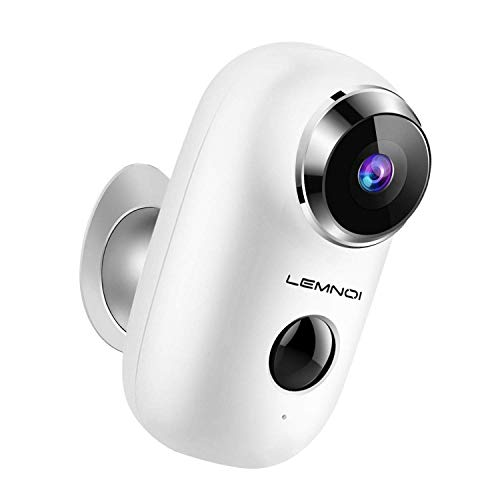 Wireless Rechargeable Outdoot Security Camera, Solar Powered WiFi 1080P...
