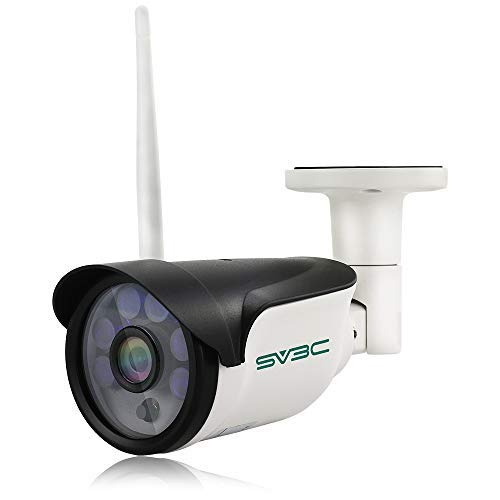 SV3C HD 960P WiFi Wireless Security Camera Outdoor, Aluminum Metal Housing,...