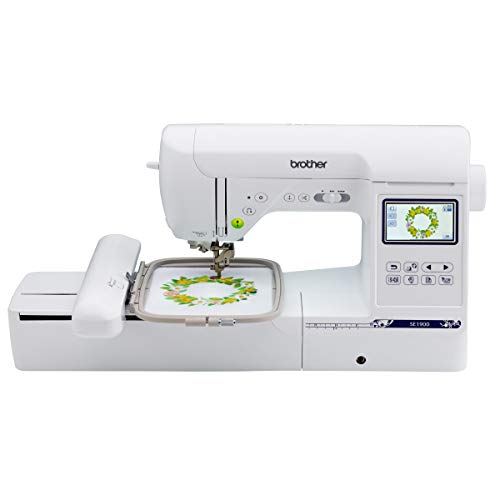 Brother SE1900 Sewing and Embroidery Machine, 138 Designs, 240 Built-in...