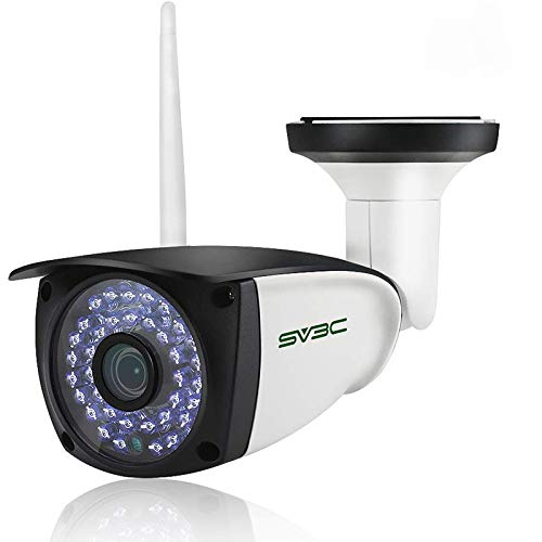 Audio WiFi Camera Outdoor, SV3C Motion Detection Security Camera, 720P HD...