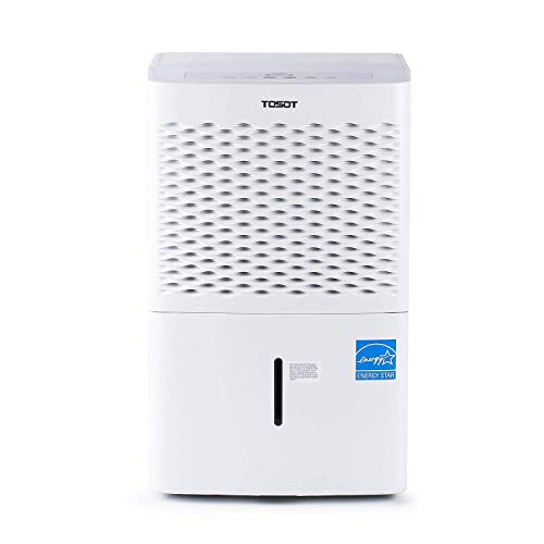 TOSOT 20 Pint 1,500 Sq Ft Dehumidifier Energy Star - for Home, Basement,...