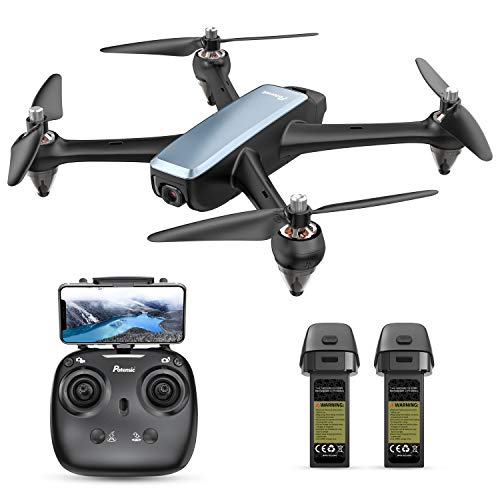 Potensic D60, GPS Drone with Camera for adults, 1080P HD FPV 110° FOV...