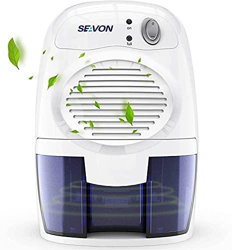 SEAVON Electric Dehumidifier for Home, 2200 Cubic Feet (225 sq ft) Portable...