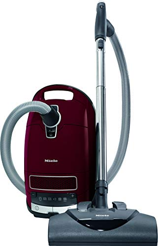 Miele Complete C3 Vacuum for Soft Carpet, Tayberry Red