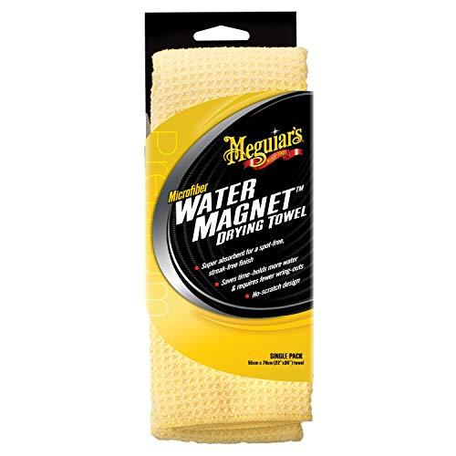 Meguiar's X2000 Water Magnet Microfiber Drying Towel, 1 Pack , Yellow , 22'...