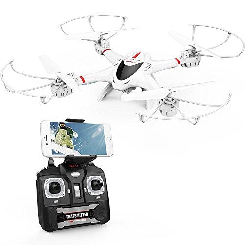 DBPOWER MJX X400W FPV Drone with Wifi Camera Live Video Headless Mode...