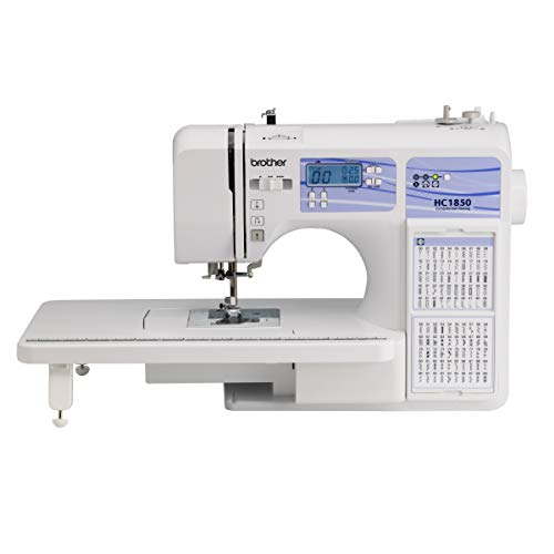 Brother HC1850 Sewing and Quilting Machine, 185 Built-in Stitches, LCD...
