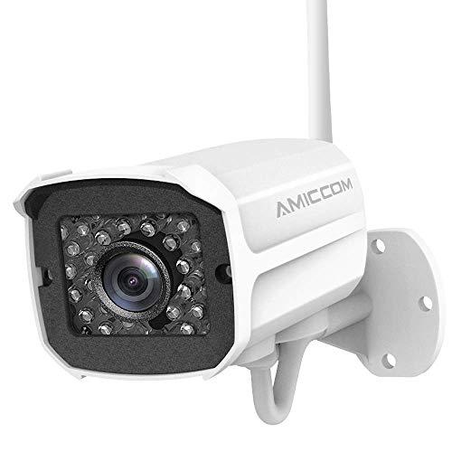 Outdoor Security Camera 1080p IP Cam 2.4G IP66 Waterproof Night Vision...