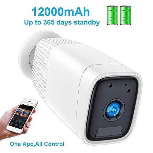 Outdoor Camera Wireless,FUVISION Outdoor Security Camera,1080P Outdoor...
