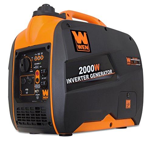 WEN 56200i 2000-Watt Gas Powered Portable Inverter Generator, CARB...
