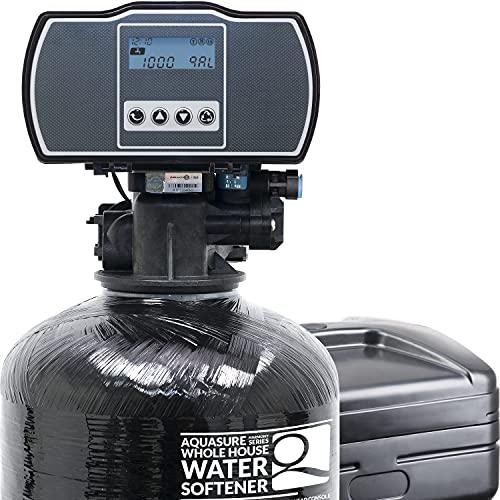 Aquasure Harmony Series 48,000 Grains Water Softener with High Efficiency...