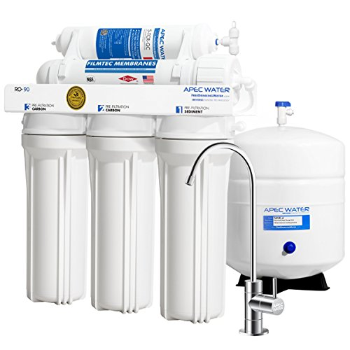 APEC Water Systems RO-90 Ultimate Series Top Tier Supreme Certified High...
