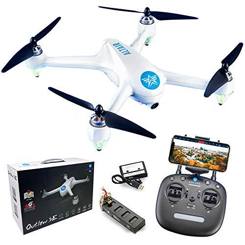 Altair Outlaw GPS Drone with Camera & Live Video, 1080p Return Home, WiFi...