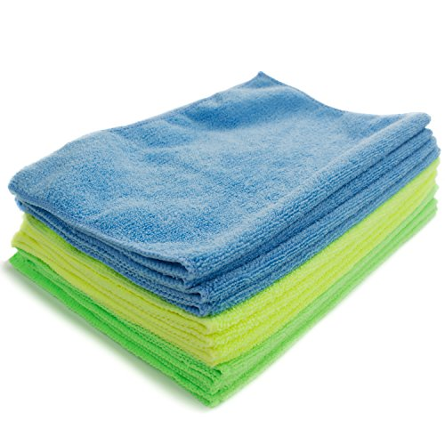Zwipes 735 Microfiber Towel Cleaning Cloths, 12 Pack