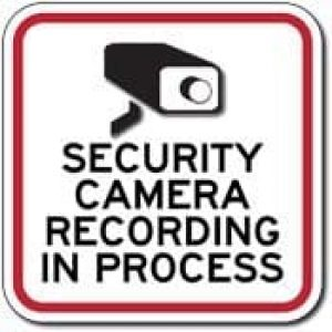 Camera Recording In Process