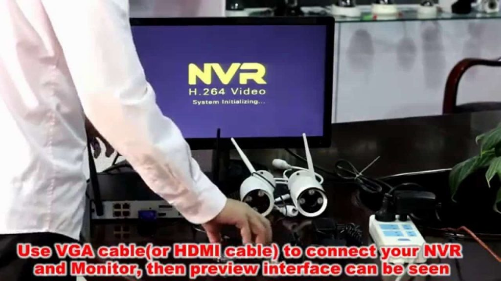 NVR to View the Wireless IP Camera