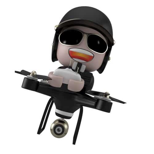 Policedrone noisy