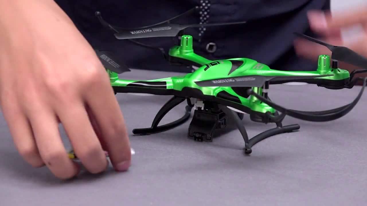 calibrating a mini drone