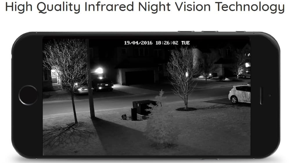 Night Vision of C1 Pro