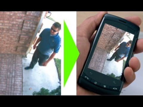 Use your old phone as a cctv camera
