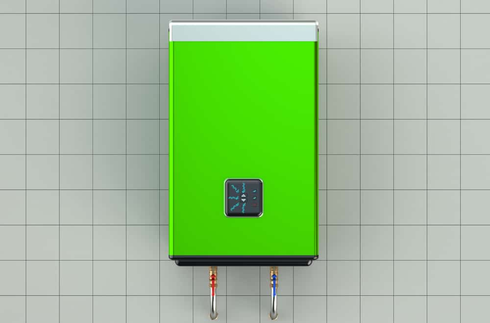 automatic green water heater or boiler