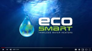 A video on eco smart tankless water heaters