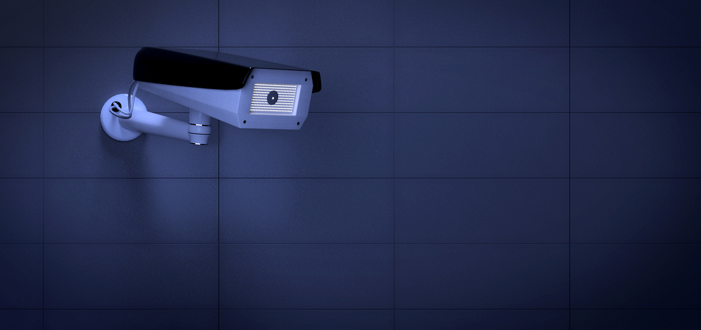 View of a Security CCTV camera system