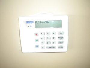 Keypad Based Burglar Alarm
