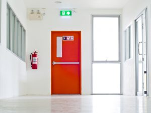 Secured Door