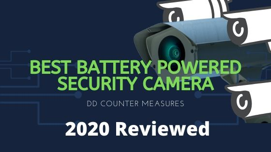 a cover photo for the battery powered security camera article