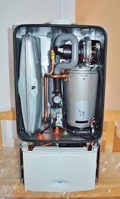 inside a water heater