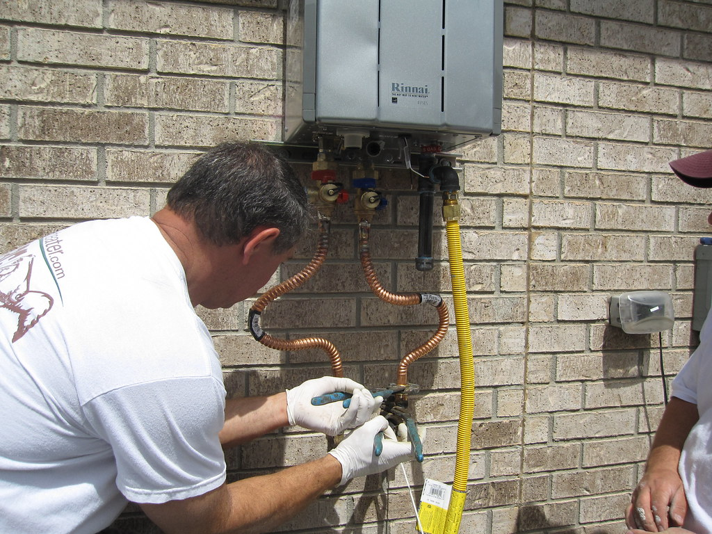 size a tankless water heater