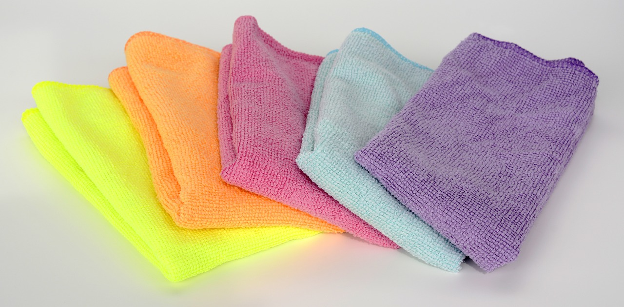 Micro Fiber Cloth For Cleaning