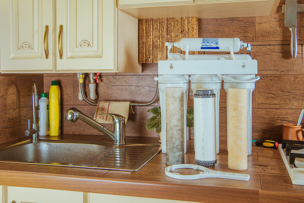 Reverse Osmosis System. Water Filter