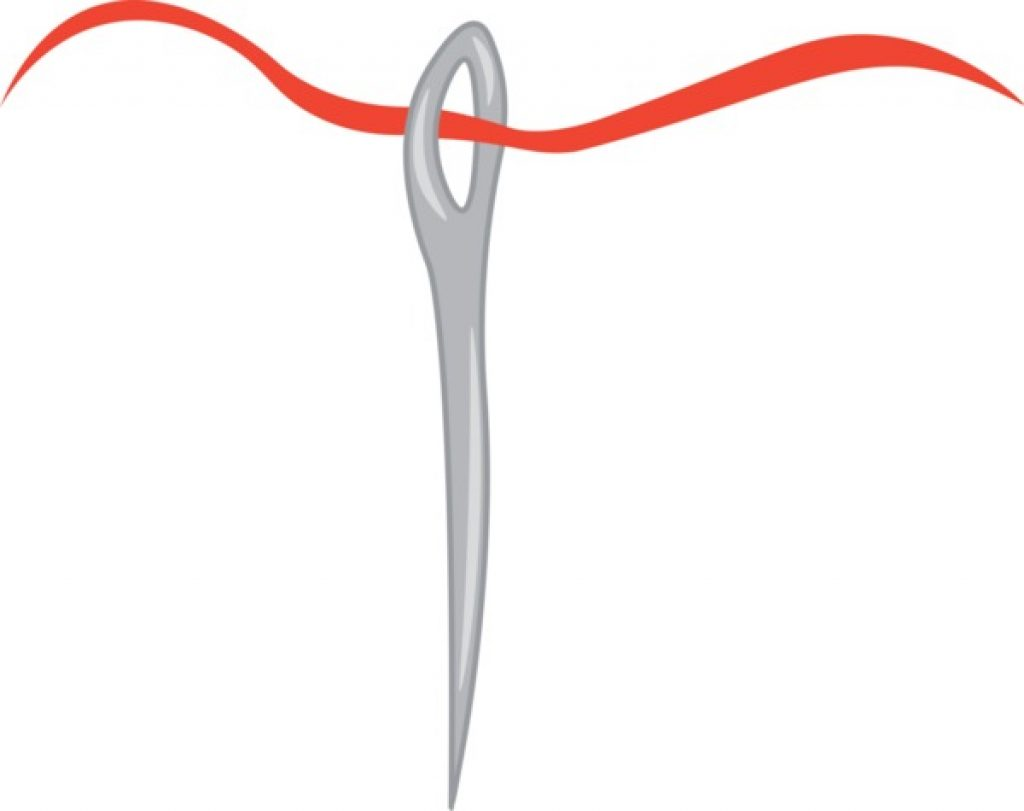A Needle With Red Thread