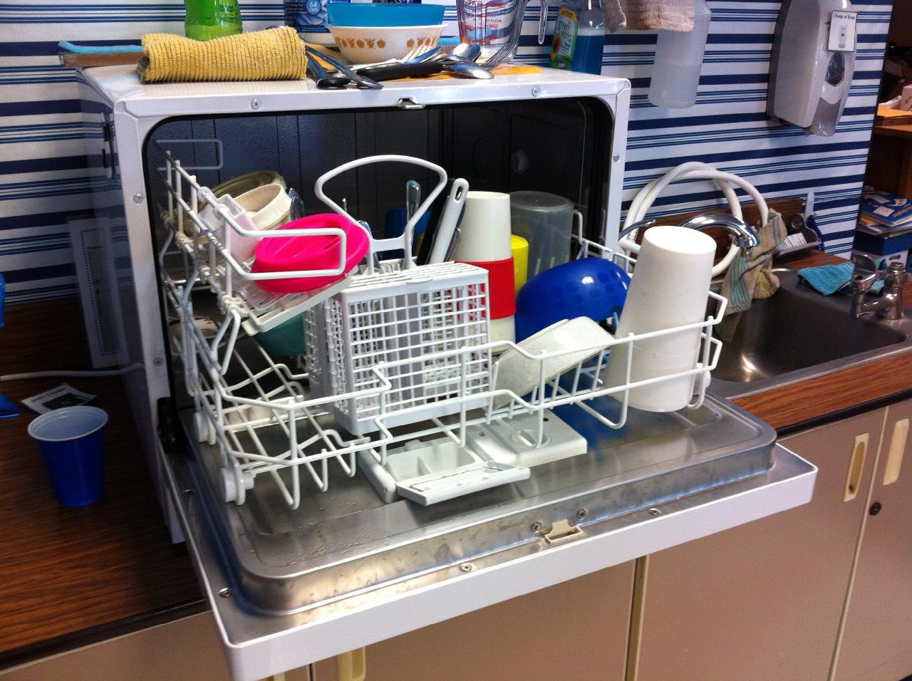 dishwasher residue
