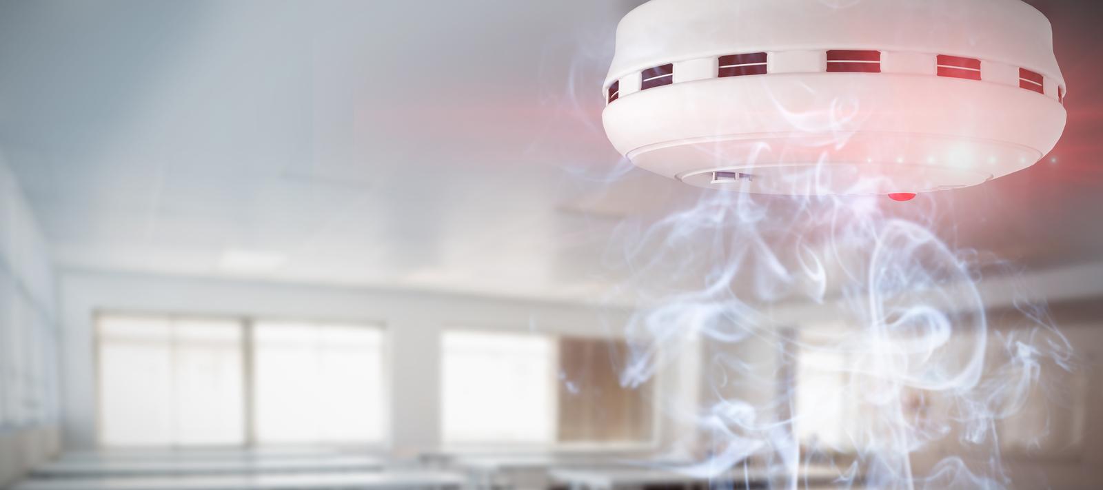 chirping smoke detector